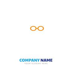 Reading eyeglasses company logo design