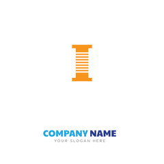 Thread spool company logo design