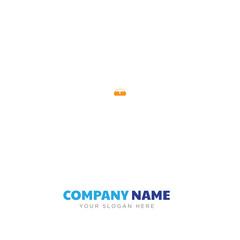 Rectangular pouch bag company logo design