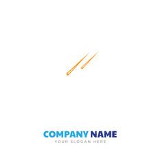 Hair sticks couple company logo design