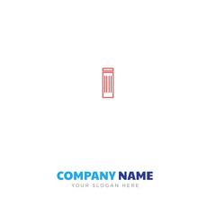 trash bin company logo design