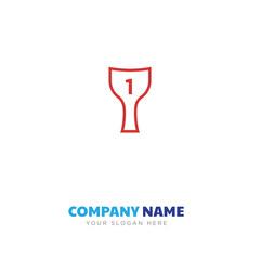 winner award company logo design