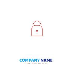 lock company logo design