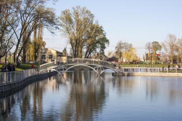 lake in citypark