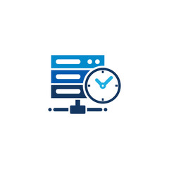 Time Server Logo Icon Design