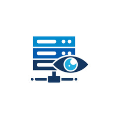 Vision Server Logo Icon Design
