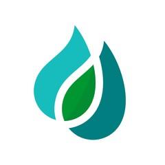 water symbol.  aqua icon. liquid logo. vector eps 08.
