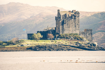 The Eilean Donan Castle, Highland, Scotland