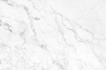 White marble pattern texture for background. for work or design.