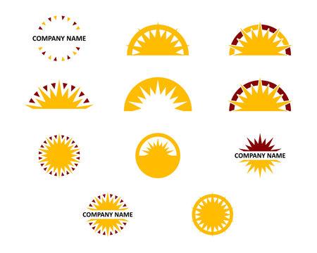 sun logo collection
