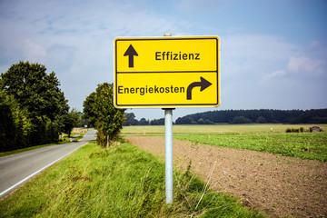 Schild 322 - Effizienz