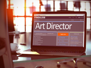 We Hiring Art Director. 3D.