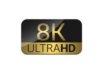8K Ultra HD icon