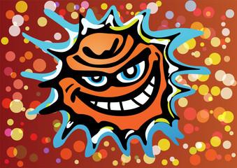 Bad Angry Sun Laughing