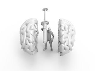 Brain Surgery 3D Render