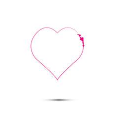 heart love icon logo symbol isolated background