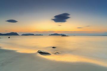 Beautiful sunset at Floe Ulstein, Norway