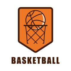Basketball Logo Vector Template Design Illustration