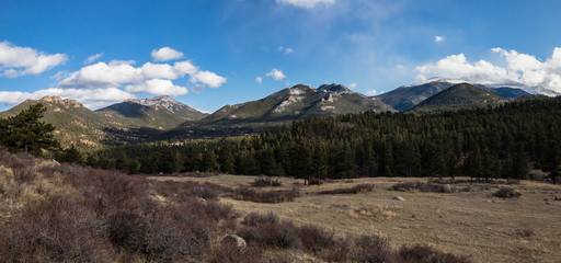Moraine Park in Rocky Mountain National Park