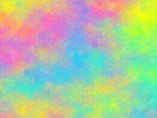 Mosaico su sfondo astratto arcobaleno