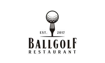Restaurant Golf logo design inspiration