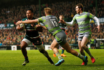 Premiership - Leicester Tigers vs Newcastle Falcons