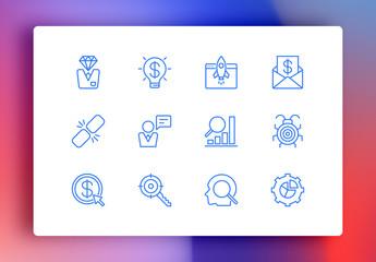 SEO Minimalist Icons