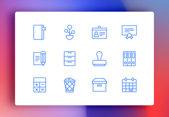 Workspace Minimalist Icons