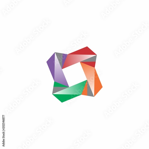 abstract logo design for template label and element fotolia com の