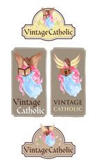 Vintage Angel Card Designs