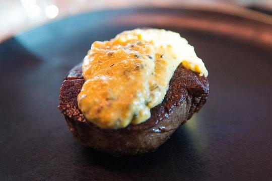 Steak with Bearnaise Sauce