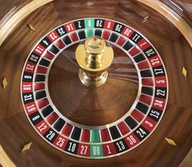 Double Zero Roulette Wheel Top View
