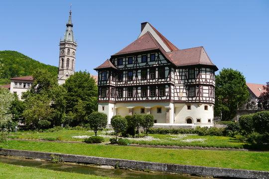 Schloss in Bad Urach.