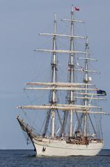 SAILING SHIP - Oman ship SHABAB OMAN at sea
