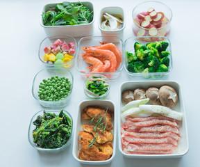 常備菜とおかずの準備