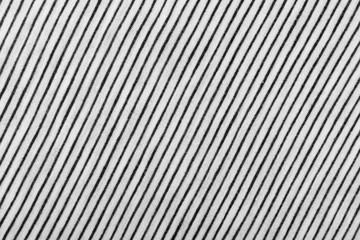 Striped Cotton Fabric Background