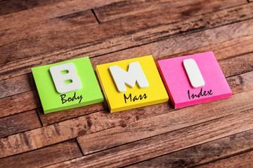 post-it acronym : BMI