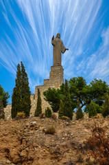 Statue of Jesus Christ in Tudela, Spain