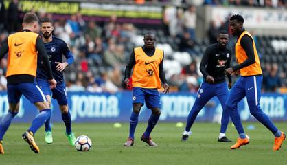 Premier League - Swansea City v Chelsea