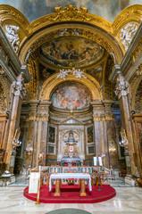 The Basilica of San Silvestro in Capite, in Rome, Italy