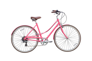 Female pink Bicycle