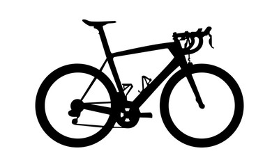 vector images of men riding bikes