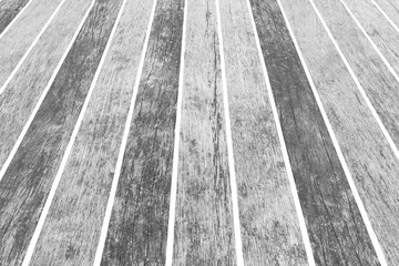 A background of weathered white wooden floor