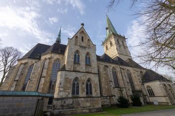 St. Felizitas-Kirche in Lüdinghausen, Münsterland, Nordrhein-Westfalen