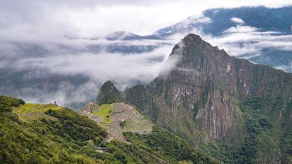 The lost city of Machu Picchu. Cuzco , Peru