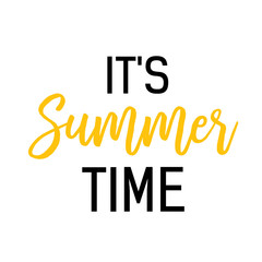 Its summer time seasonal poster template. Typed and calligraphic text can be used for leaflets, greeting cards, flyers, banners.