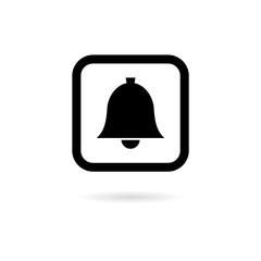 Alarm icon, Ringing bell icon