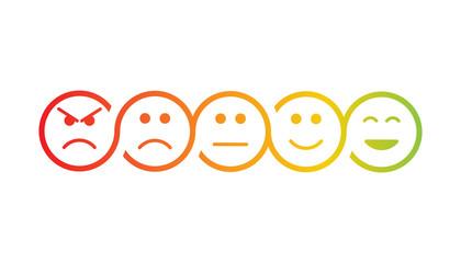 your feedback emoji flat