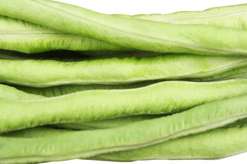 Fresh green yardlong bean