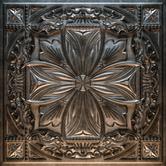 Vintage decorative pattern. 3D rendering.
